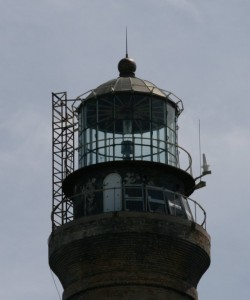For the historic Loggerhead Key Lighthouse in the Dry Tortuagas National Park we fabricated a new copper roof panel and rib system.