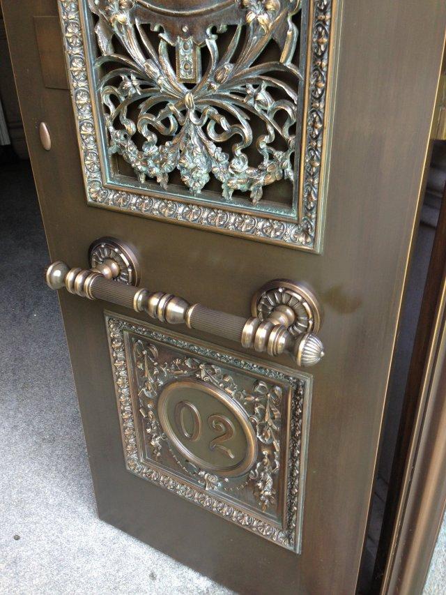 Custom Bronze Mausoleum Door Pulls & Custom Bronze Mausoleum Door Pulls - Keicher Metal Arts Pezcame.Com