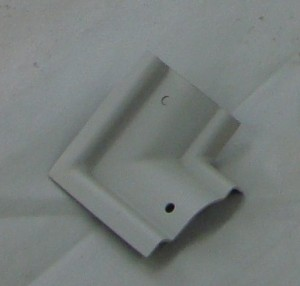 Custom corner piece of molding