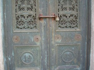Condition of the original doors
